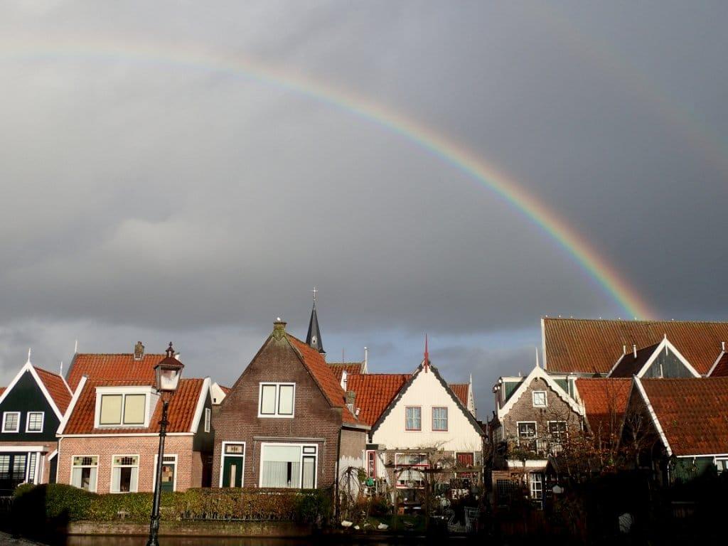 Holland Windmills Volendam Netherlands